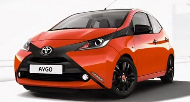 aygo la nouvelle voiture populaire de la marque toyota d barque en octobre prix voitures. Black Bedroom Furniture Sets. Home Design Ideas